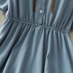 Harajuku Soft girl Chiffon  Dress with Bow 6