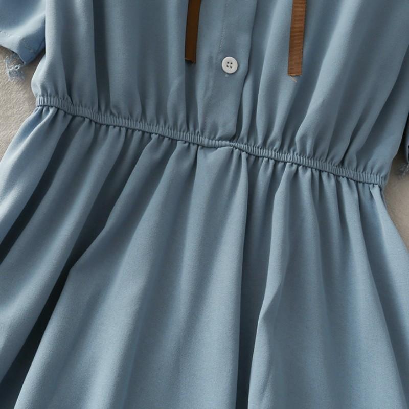 Harajuku Soft girl Chiffon  Dress with Bow 52