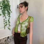 Soft girl Y2K Lace Crop Top 27