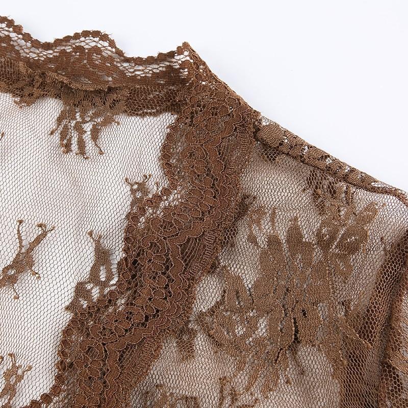 Soft girl Y2K Lace Crop Top 48