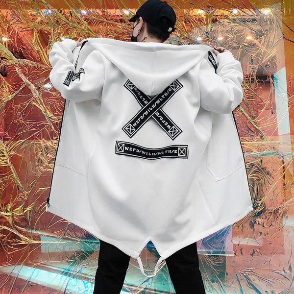 Harajuku Eboy Hooded Jackets 5