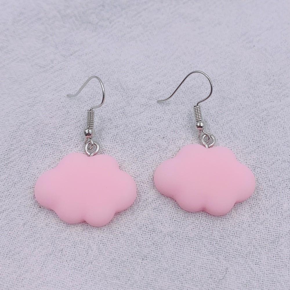 Soft girl Egirl Harajuku Cute Cloud Earrings 44