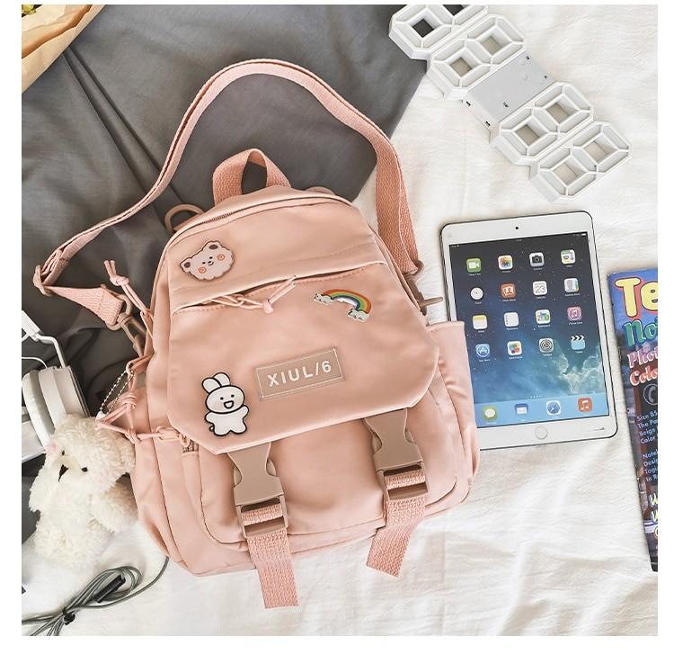 Soft girl small cute Backpack 50