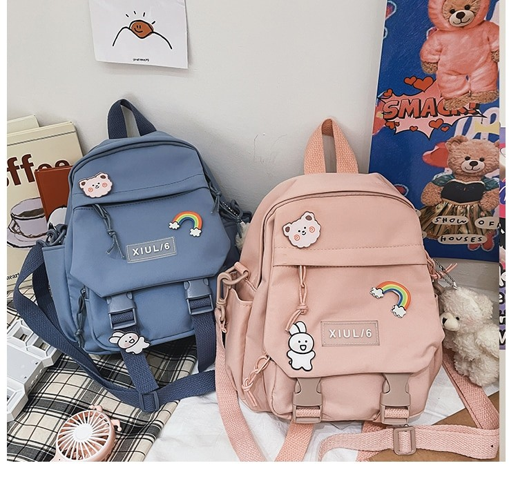 Soft girl small cute Backpack 49