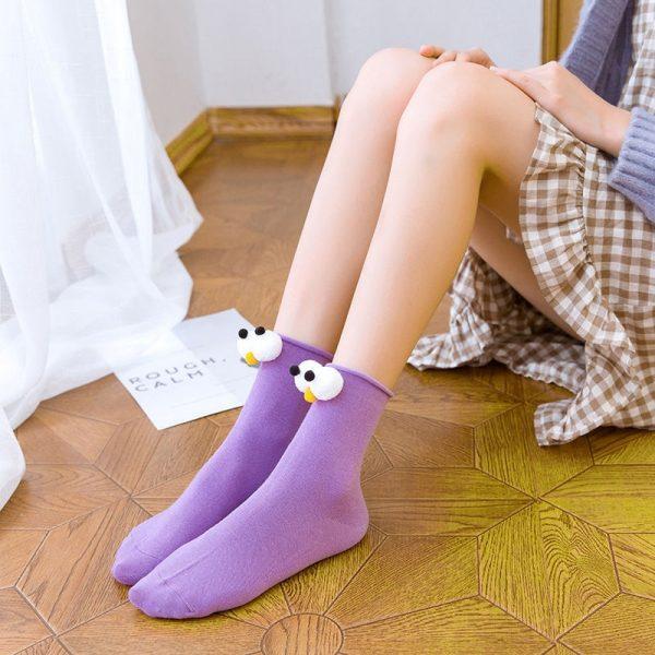 3D eyes Funny Socks Harajuku kawaii style 41