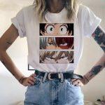 Harajuku T-Shirt with My Hero Academia Anime print 3