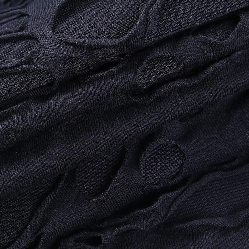 Egirl Gothiс Punk Mini Dress with holes 50