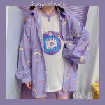 Harajuku Soft Girl Oversized T-shirt 1