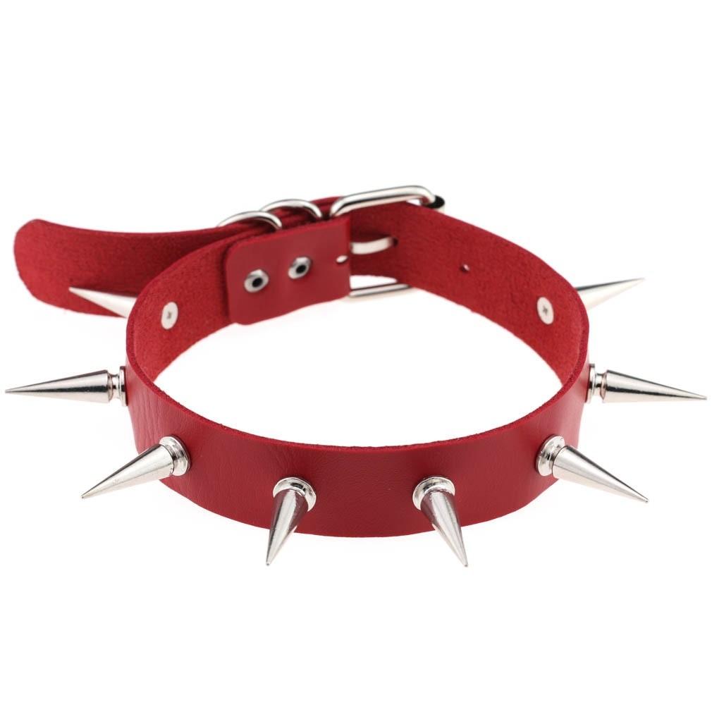 Egirl Eboy Gothic Punk Chokers (red) 71