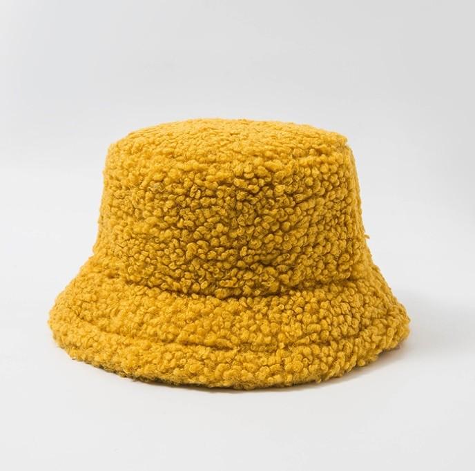 Harajuku Faux Fur Winter Bucket Hat 55