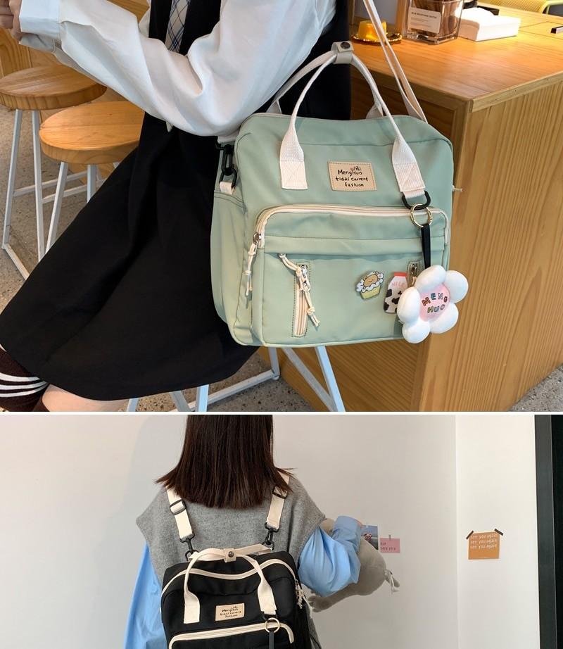 Egirl Soft girl Lovely Multifunctional Backpacks 48