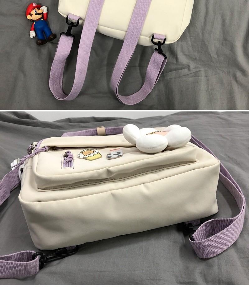 Egirl Soft girl Lovely Multifunctional Backpacks 50