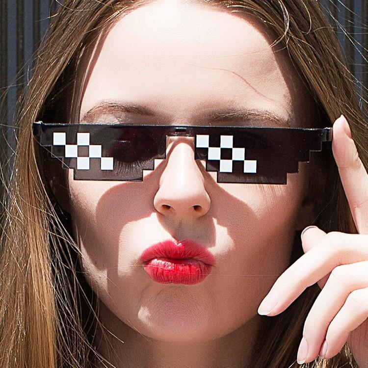 Egirl Eboy Harajuku Pixelated Sunglasses Thug Life 49