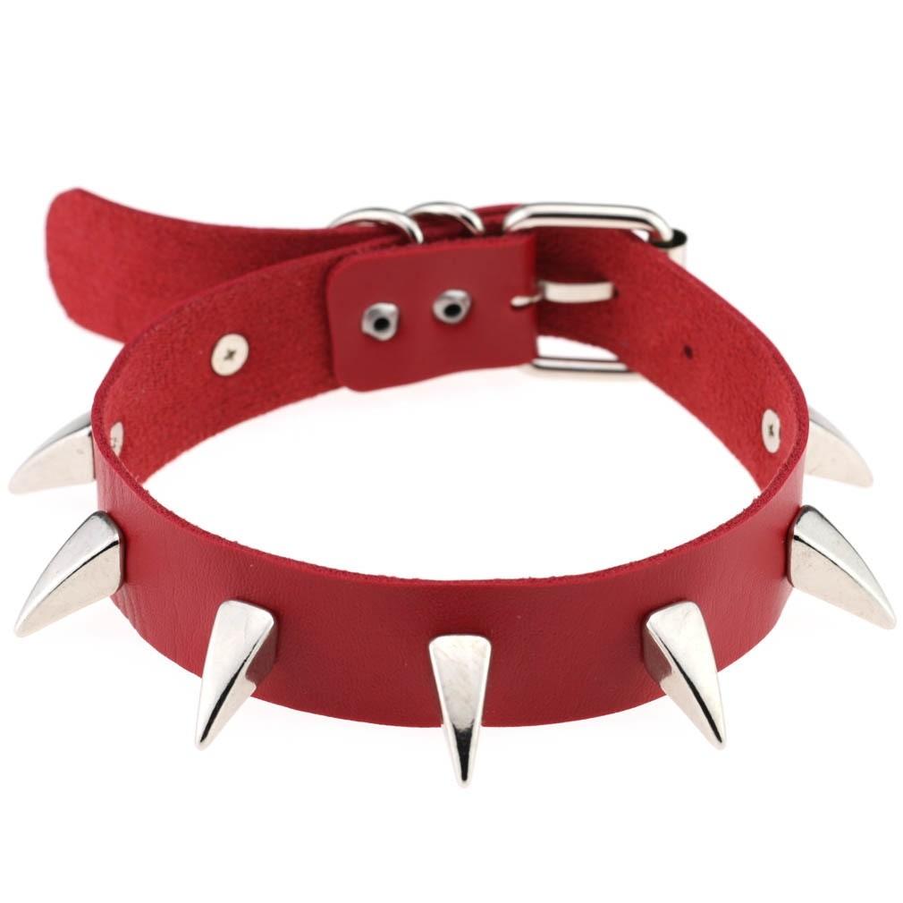 Egirl Eboy Gothic Punk Chokers (red) 67