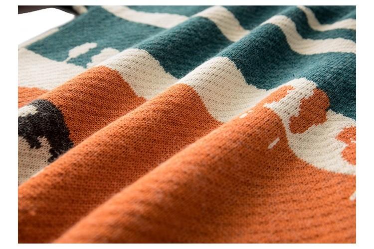 Eboy Egirl Y2K Vintage Cows print Sweaters 51