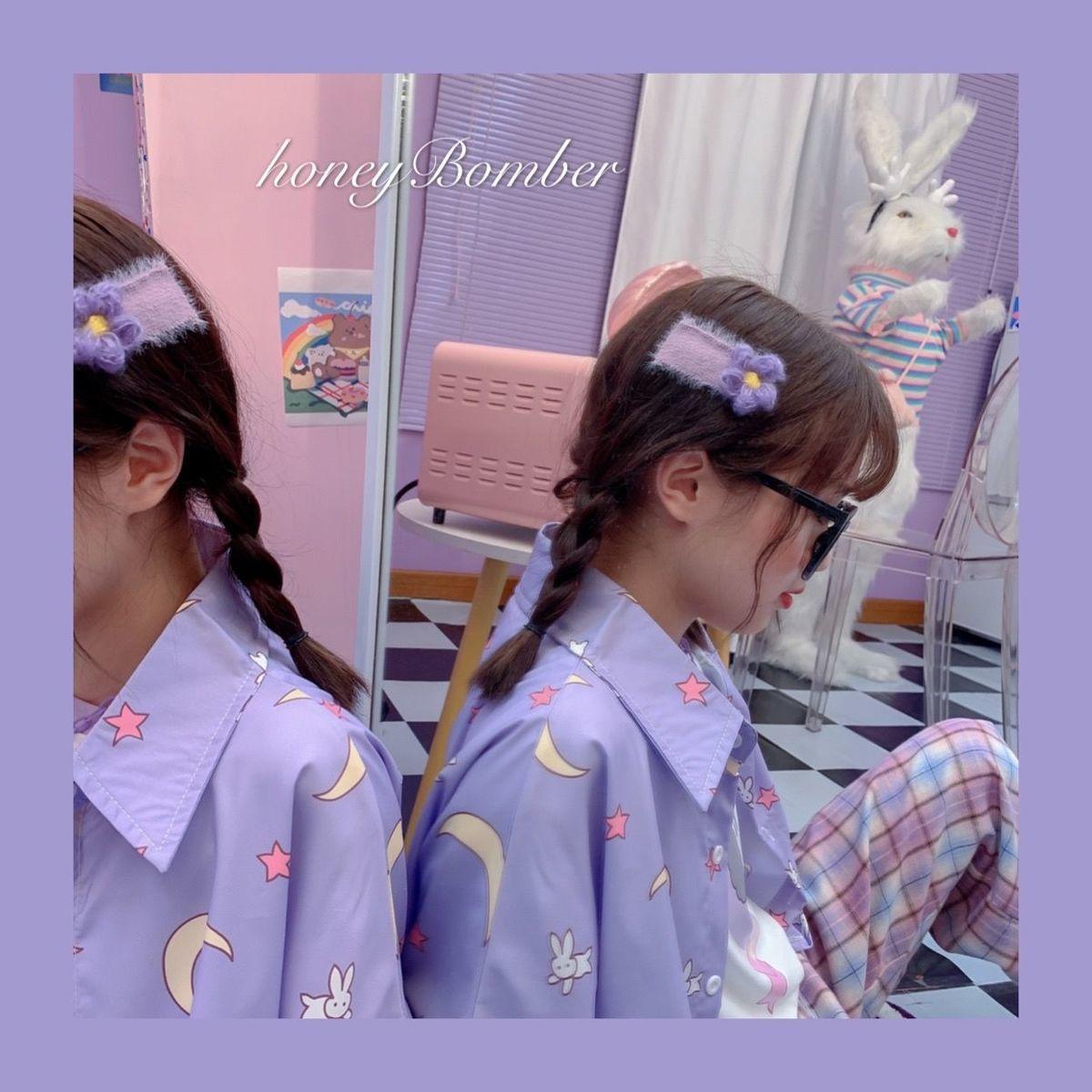 Harajuku Soft Girl Oversized T-shirt 51