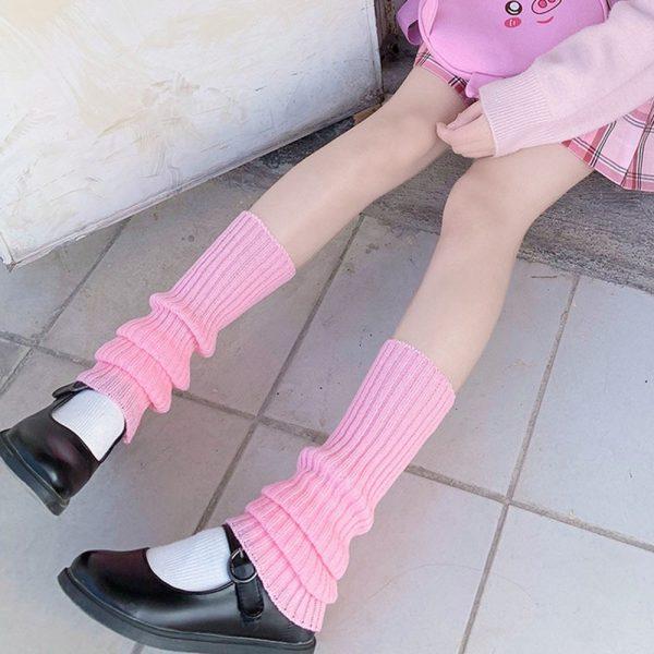 Knit Loose Leg Warmers 3