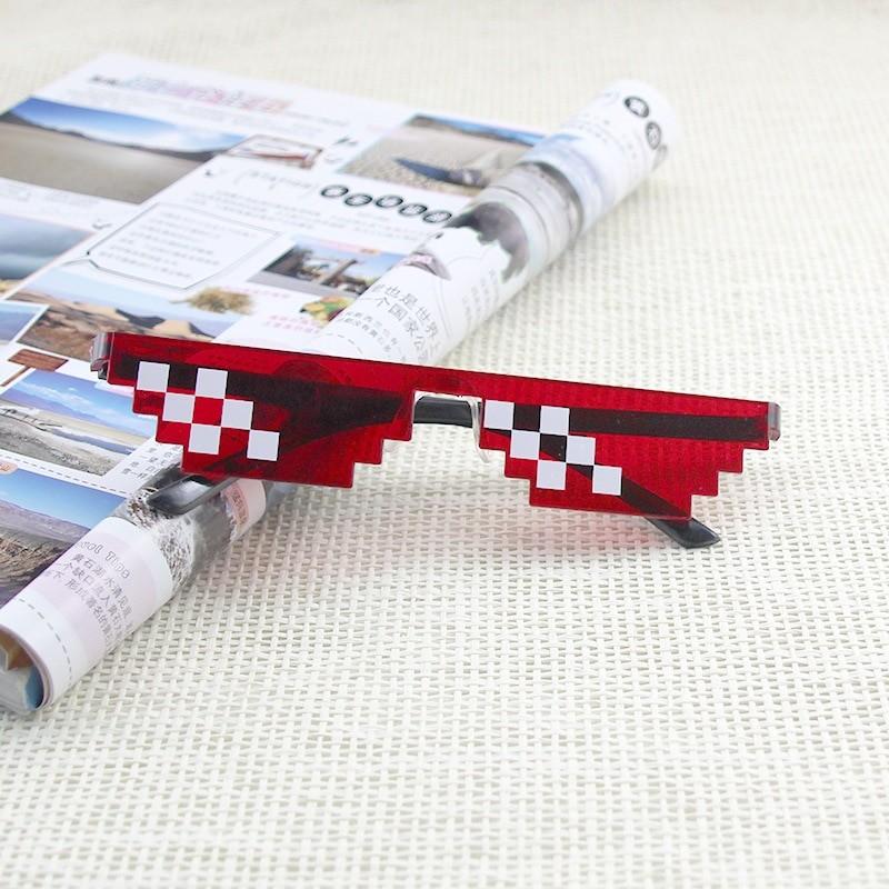 Egirl Eboy Harajuku Pixelated Sunglasses Thug Life 59