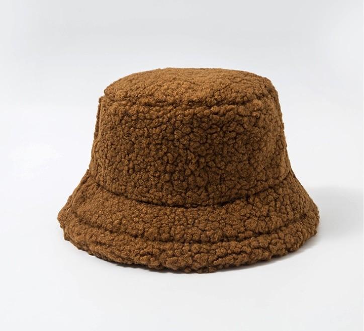 Harajuku Faux Fur Winter Bucket Hat 53
