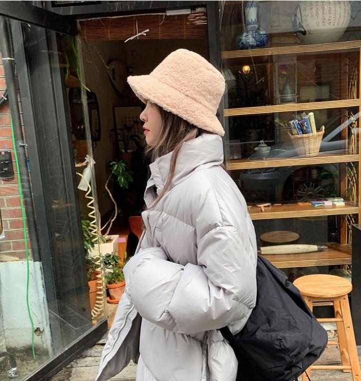 Harajuku Faux Fur Winter Bucket Hat 45