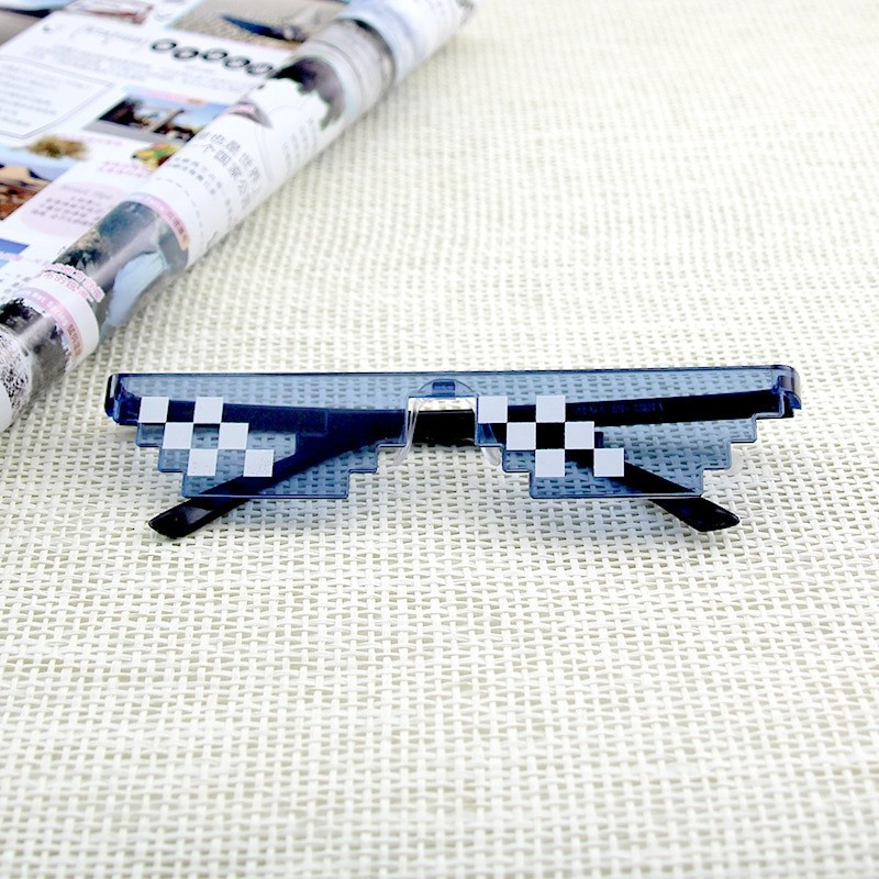 Egirl Eboy Harajuku Pixelated Sunglasses Thug Life 57