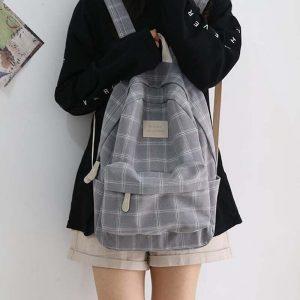 Egirl Soft girl Harajuku College School Bag 16
