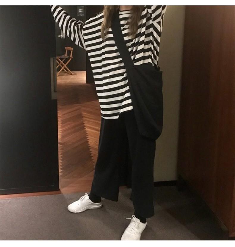 Egirl Harajuku Oversized Striped T-shirt 43
