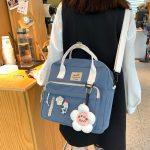 Egirl Soft girl Lovely Multifunctional Backpacks 2