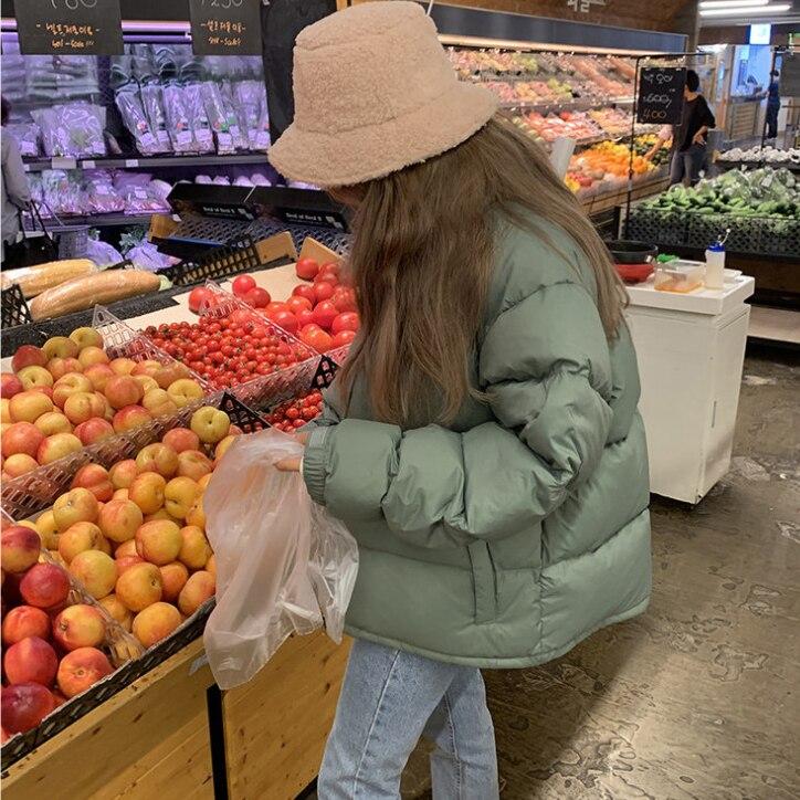 Harajuku Faux Fur Winter Bucket Hat 43