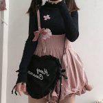 Egirl Soft girl Loose Solid Corduroy Playsuitswith Ruffles 3