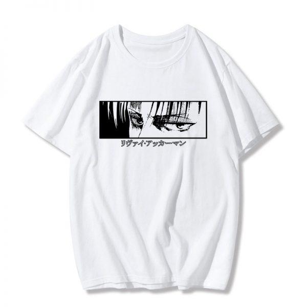 Egirl Harajuku anime Attack on Titan T-shirt 4