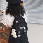 Soft girl small cute Backpack 4