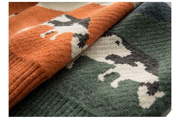 Eboy Egirl Y2K Vintage Cows print Sweaters 52