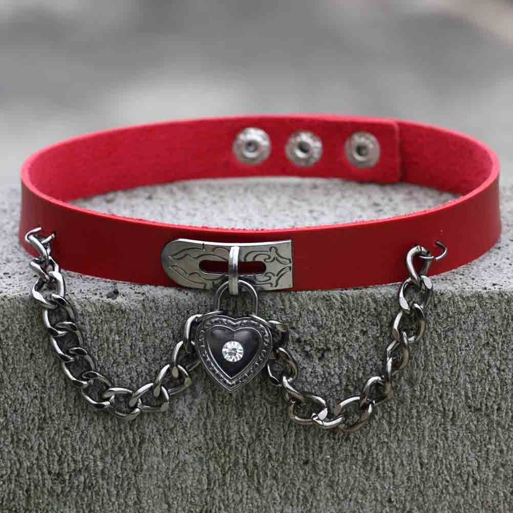 Egirl Eboy Gothic Punk Chokers (red) 59