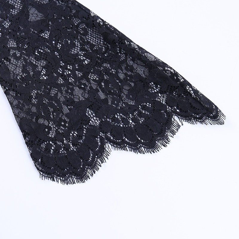 Egirl Gothic Velvet Lace Top 53
