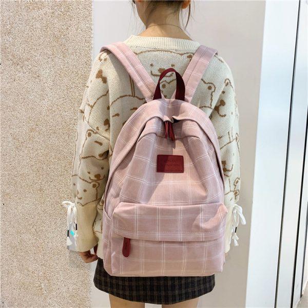 Egirl Soft girl Harajuku College School Bag 2