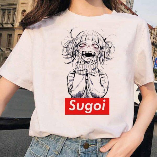 Harajuku T-Shirt with Japanese Anime  Boku No Hero Academia My hero Academia 3