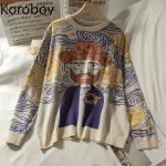 Egirl Eboy Harajuku Vintage Cartoon print Sweater 1