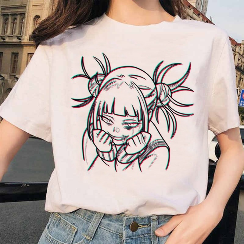 Harajuku T-Shirt with Japanese Anime Boku No Hero Academia My hero Academia 25