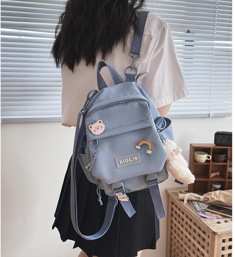 Soft girl small cute Backpack 47