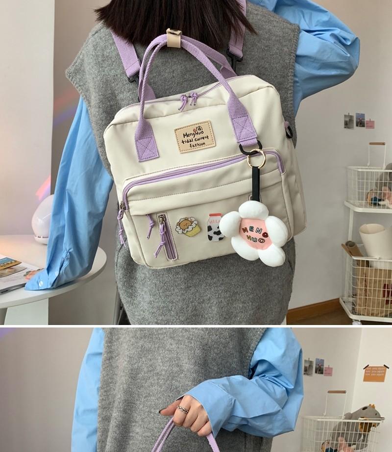 Egirl Soft girl Lovely Multifunctional Backpacks 44