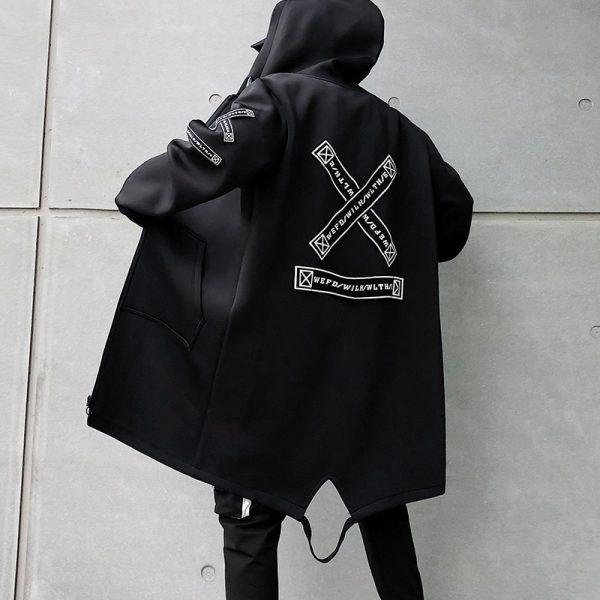 Harajuku Eboy Hooded Jackets 1
