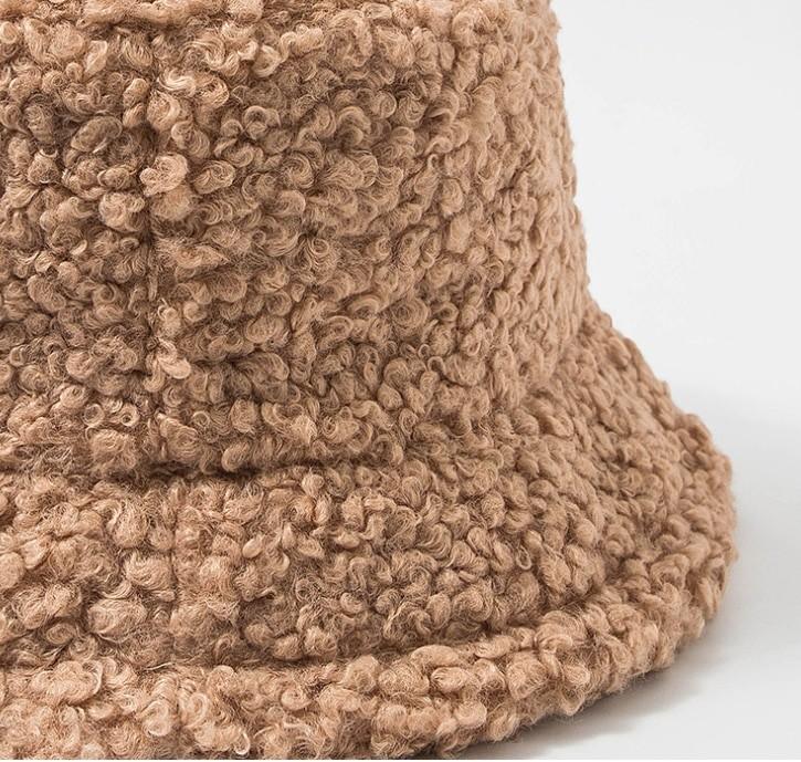 Harajuku Faux Fur Winter Bucket Hat 57