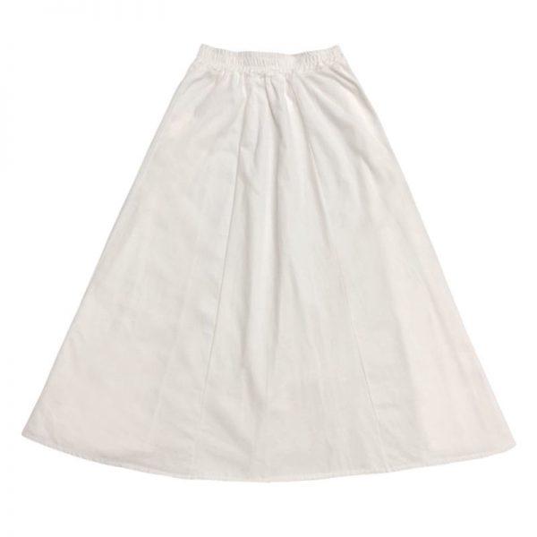 Harajuku Long Skirts A-line with elastic band 6