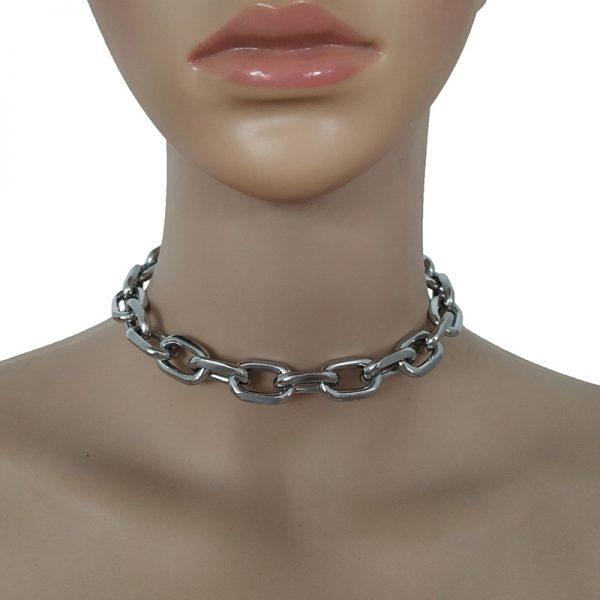Eboy Egirl Punk Exaggerated Heavy Metal Thick Chain Choker 5