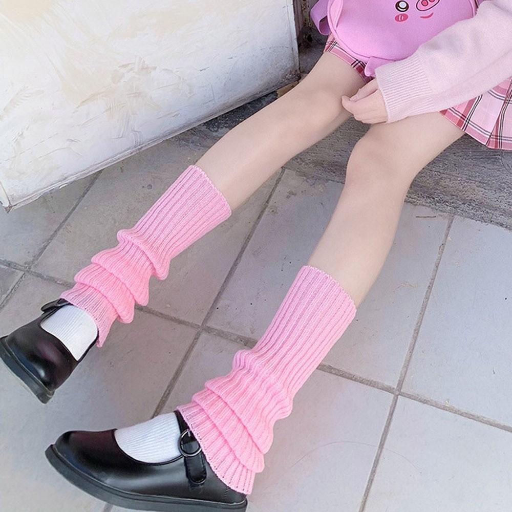 Knit Loose Leg Warmers 41