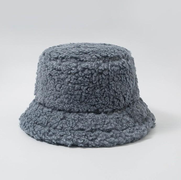 Harajuku Faux Fur Winter Bucket Hat 51