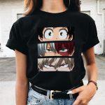Harajuku T-Shirt with My Hero Academia Anime print 2