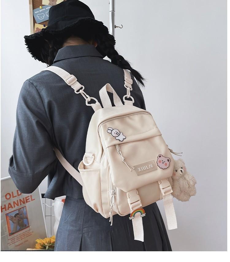 Soft girl small cute Backpack 44