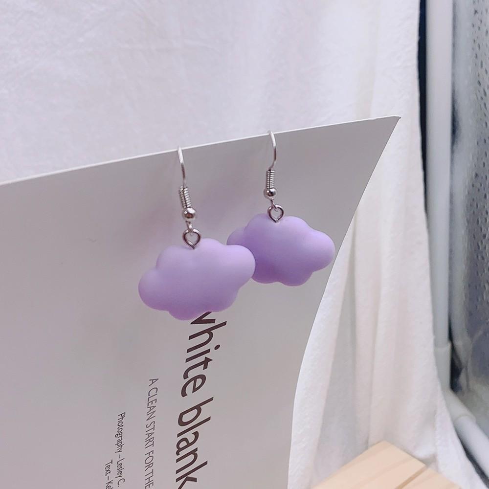 Soft girl Egirl Harajuku Cute Cloud Earrings 42
